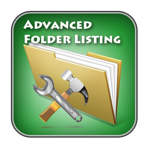 Advanced Folder Listing - Version 1.6.6